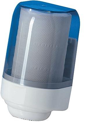 Dispensador Dispensador Papel Toallas transparente a pared para rollo a svolgimento interno (diámetro Max Rot. Ø15 cm H 22 cm): Amazon.es: Hogar