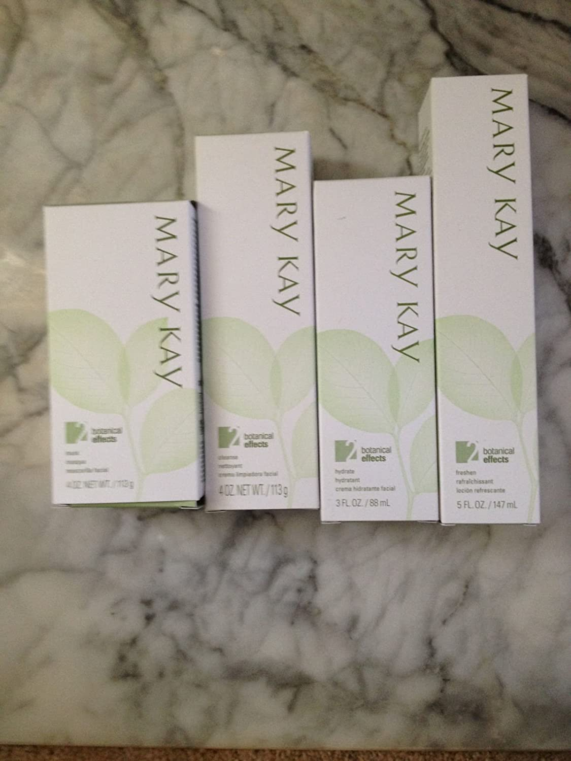 Mary Kay Botanical Effects Skin Care Set Formula 2 Normal Skin