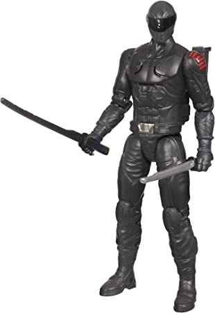 GI Joe Retaliation Ninja Commando Snake Eyes Figure