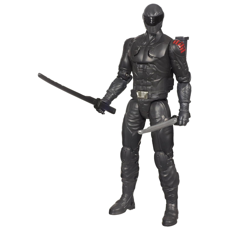 G.I. Joe Action Figur - Ninja Commando Snake Eyes mit Schwerthalterung