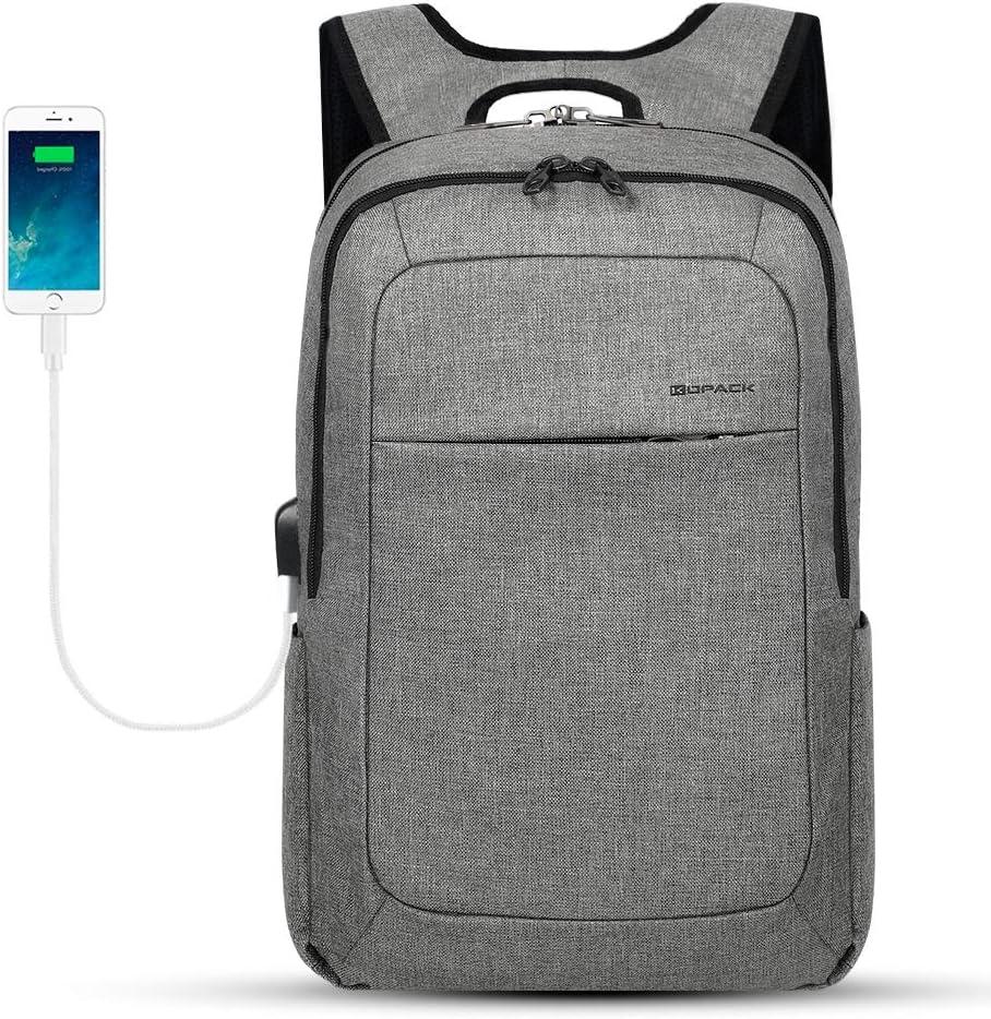 KOPACK Slim Laptop Backpacks Anti Thief Business