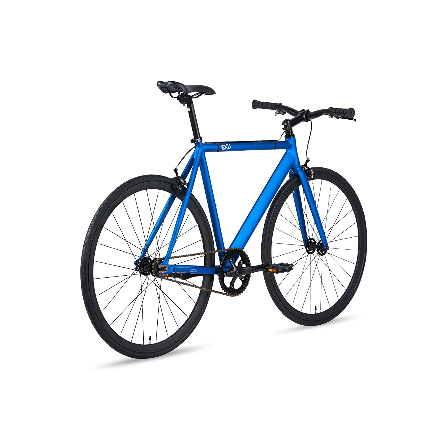Amazon.com : 6KU Aluminum Fixed Gear Single-Speed Fixie Urban Track ...