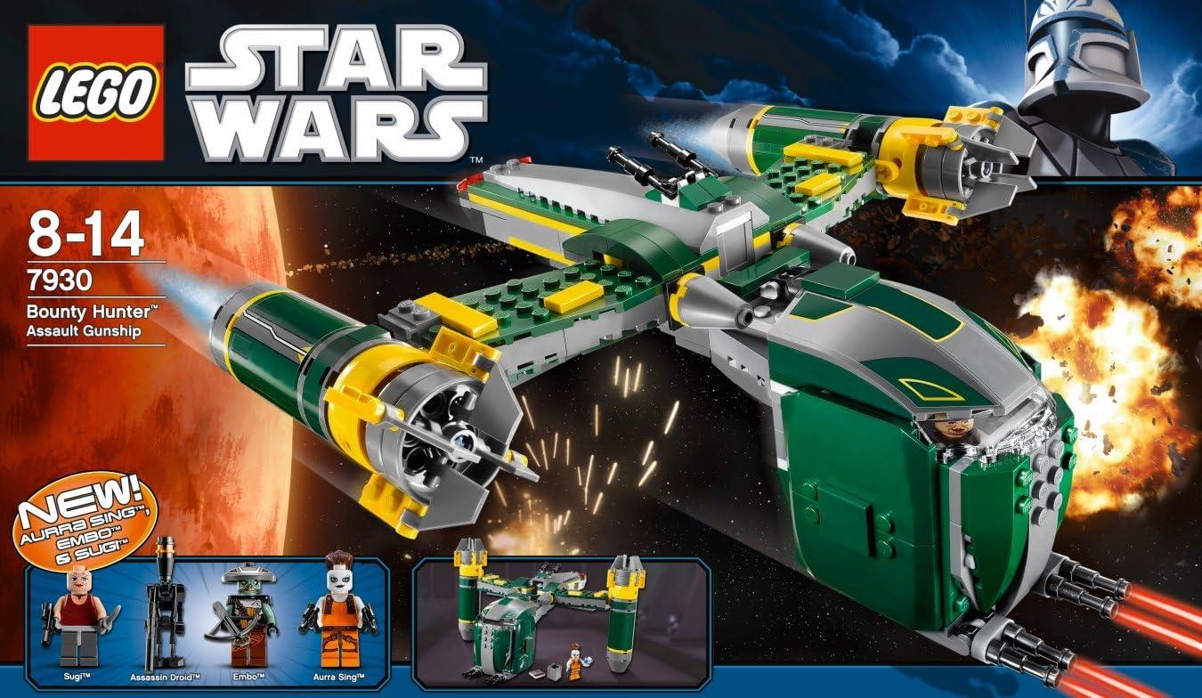 LEGO Star Wars Aurra Sing Bounty Hunter Minifigure From Set 7930 New