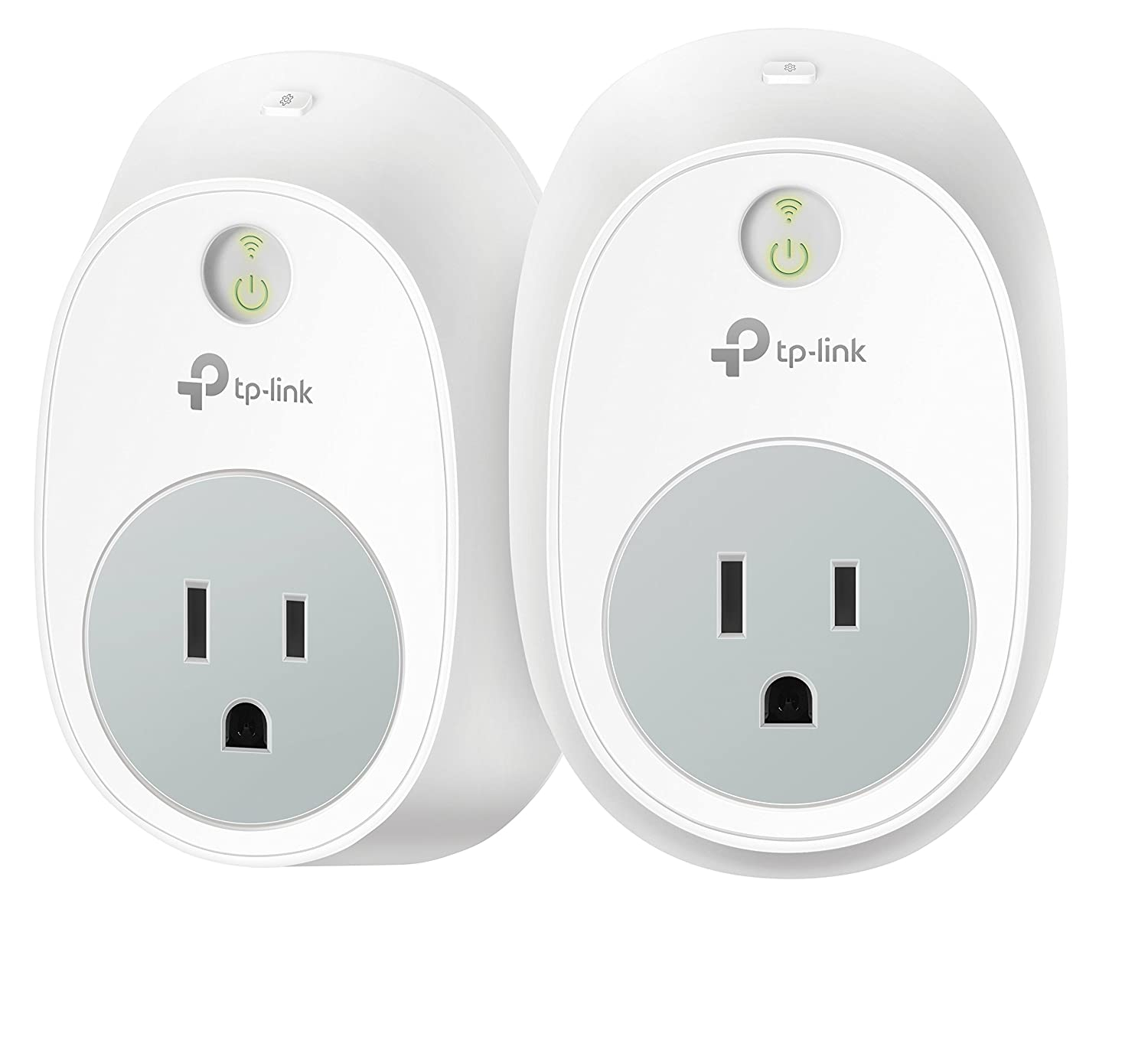 Kasa Smart Plug Outlet By Tp Link 2 Pack Reliable Wifi Relay Switch Walmart Connection No Hub Required Works With Alexa Echo Google Assistant Hs100 Kit