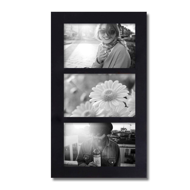Adeco [PF0269] 3 aberturas 4 x 6 Collage marco de fotos - Collage de ...