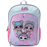 LOL Surprise Backpack for Girls - 16 Inch - LOL School Bag, Elementary School Size