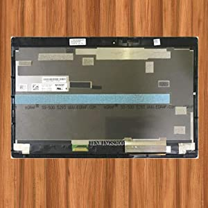 """FOR DELL 12.5"""" FHD LCD Screen + Touch Digitizer + Bezel Frame Assembly Latitude E7275 LQ125M1JW31"""