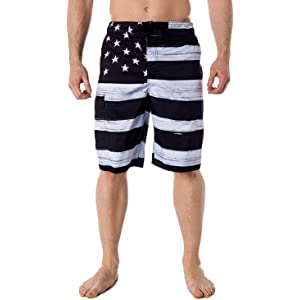 WillowswayW Feather Pattern Quick-Dry Swimming Trunk,Mens Summer Beach Half Pants Shorts Swimwear