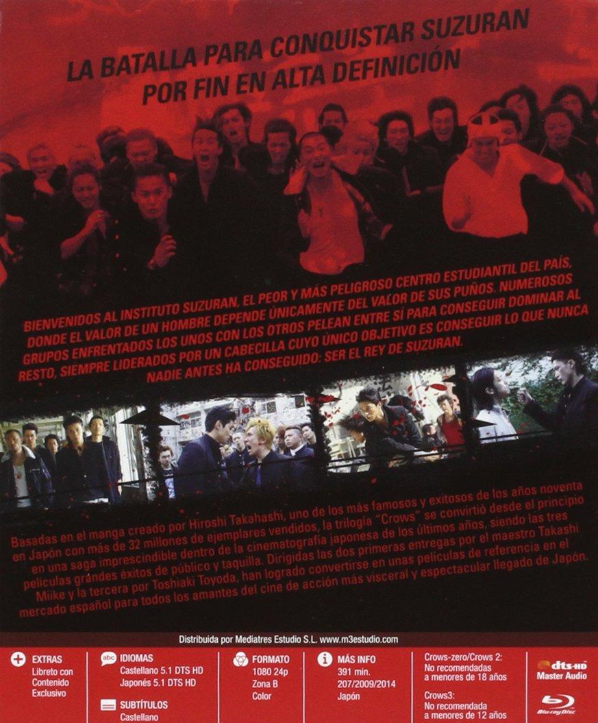 Pack Crows (saga completa) [Blu-ray]: Amazon.es: Shun Oguri ...