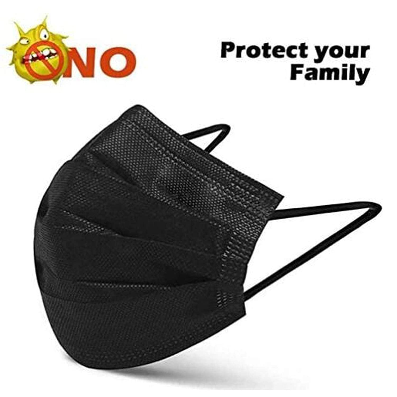 Lishirong Face Bandanas Proof Protect Face Boca Cover Outdoor Youre Too Close 20 piezas Negro