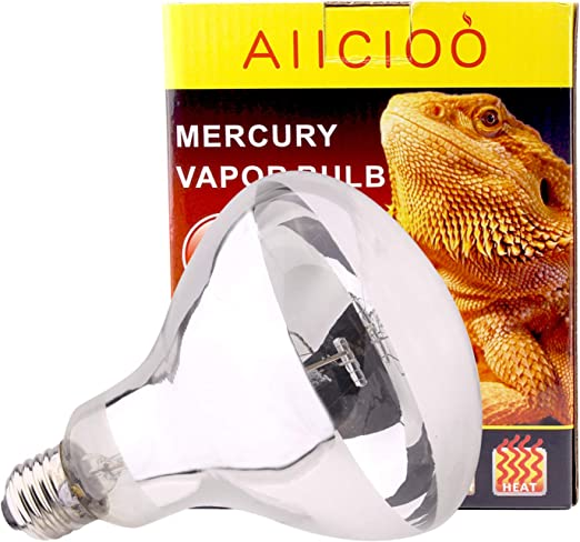 AIICIOO UVB UVA Bombilla Calor de Reptiles y Anfibios Promover la Síntesis D3 para Tortuga/Camaleón/Serpiente/Polluelo E27 220-240V 100W: Amazon.es: Productos para mascotas