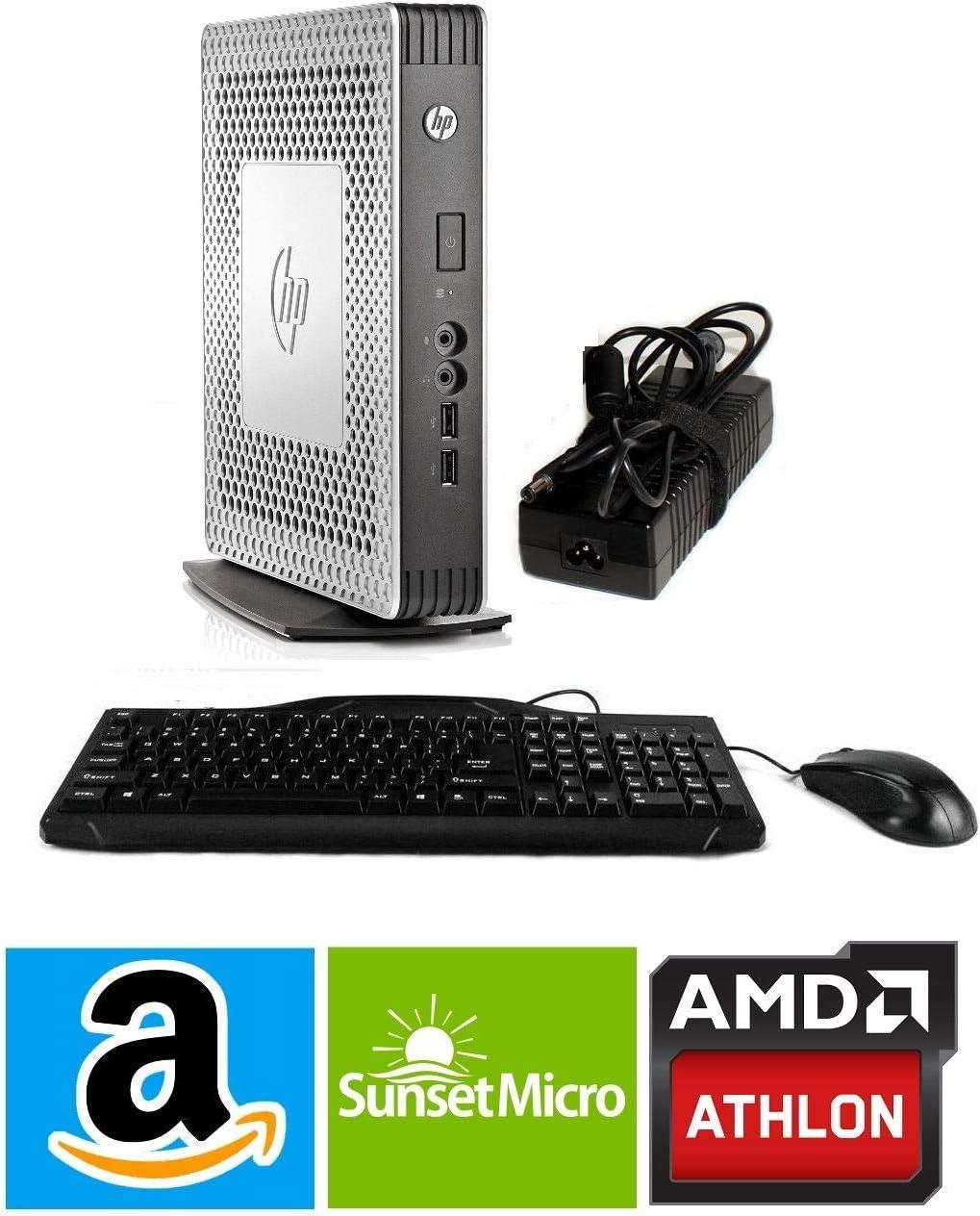 HP Thin Client T610 E4T92AA#ABA AMD Dual CORE T-56N 1.65 GHZ, 1GB Flash, 4GB DDR3-1600 SODIM