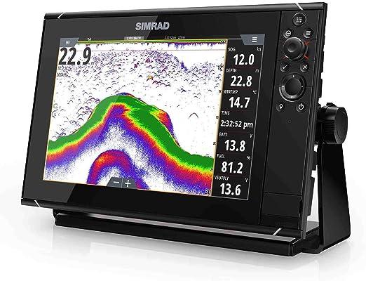 SIMRAD NSS12 evo3 Multifunction Display with Insight USA Lake and Coastal Charts 000-13235-001