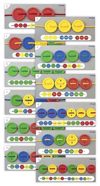Amazon.com: Miniland Activity Buttons: Toys & Games