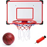 Liberty 进口室内/室外 XL 大篮球篮筐套装 - 68.58 厘米 x 45.72 厘米篮板+38.10 厘米 轮缘
