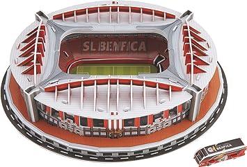 Puzzle 3D Estadio Rompecabezas Diy 3d Juego Puzzle Fútbol ...