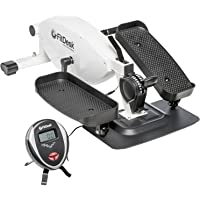 FitDesk Under Desk Elliptical White