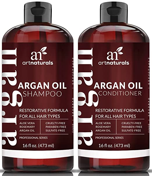 Art Naturals Organic Moroccan Argan Oil Shampoo and Conditioner Set Review
