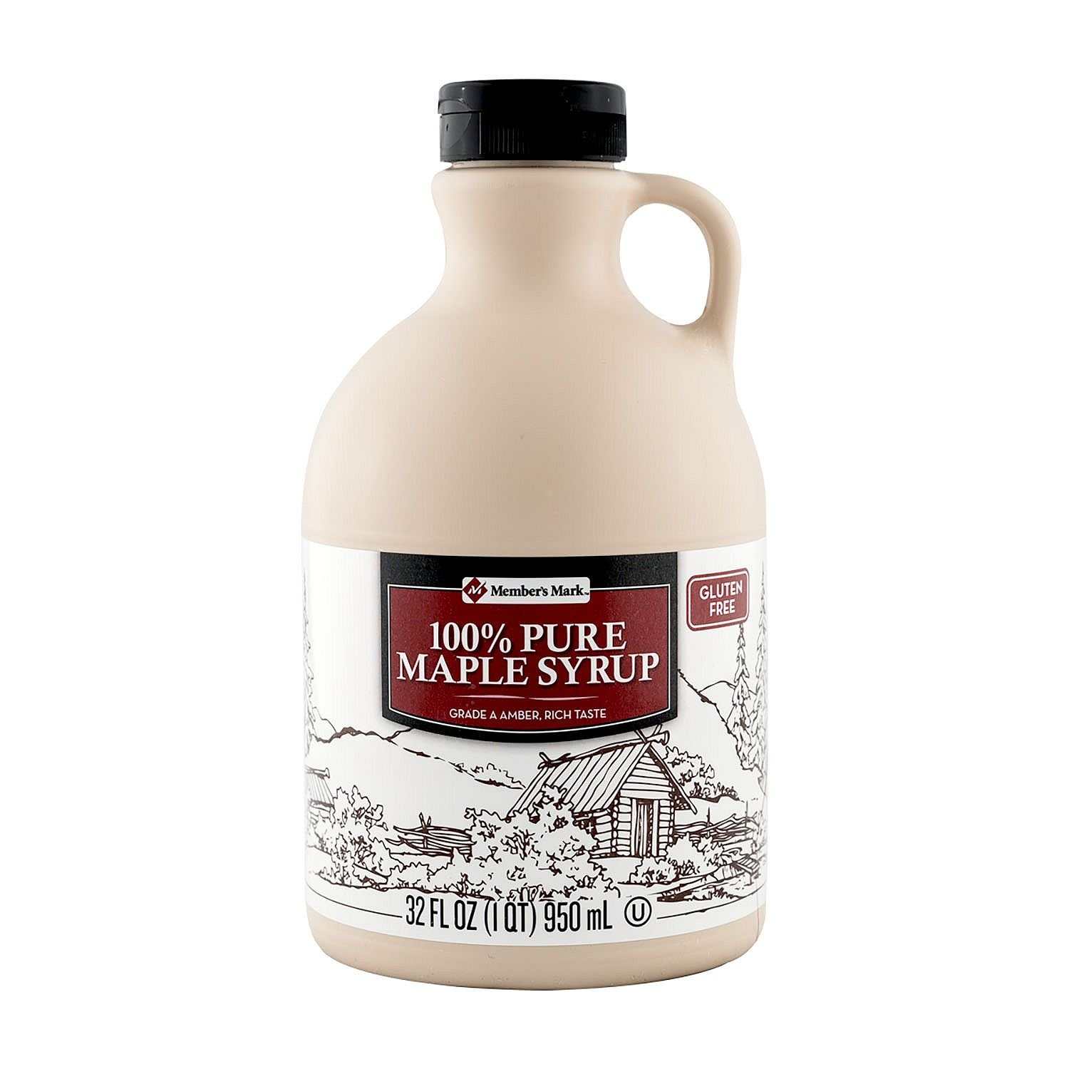 Amazon.com : Uncle Luke\'s Pure Maple Syrup, 32 Ounce : Grocery ...
