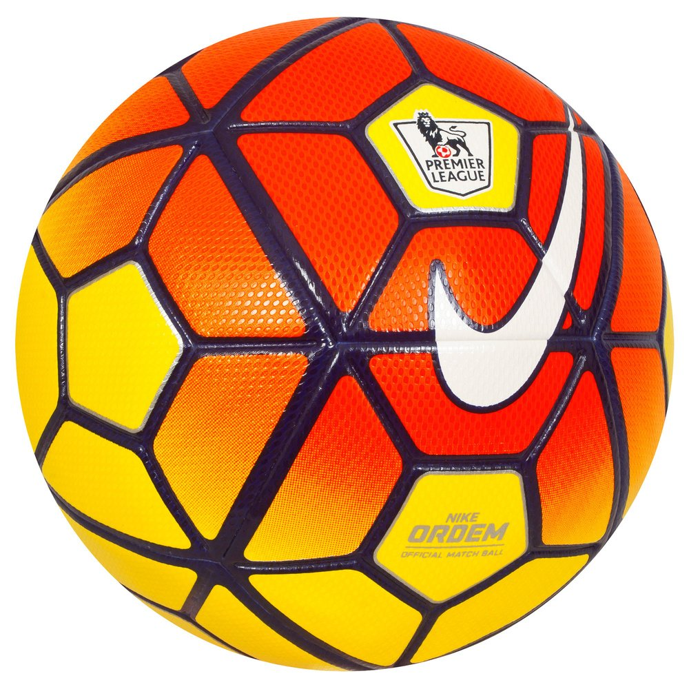 Nike Ordem 3 Premier League HI-VIS Soccer Ball, Yellow