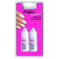Fing 'rs Nail Glue Pink Bond (Pack of 2)