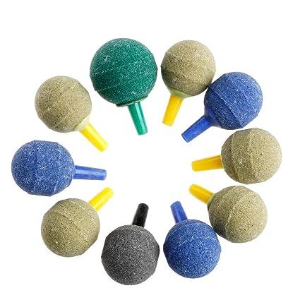 Tandou - 10 difusores de aireador para Acuario con Burbujas y Piedra de Aire