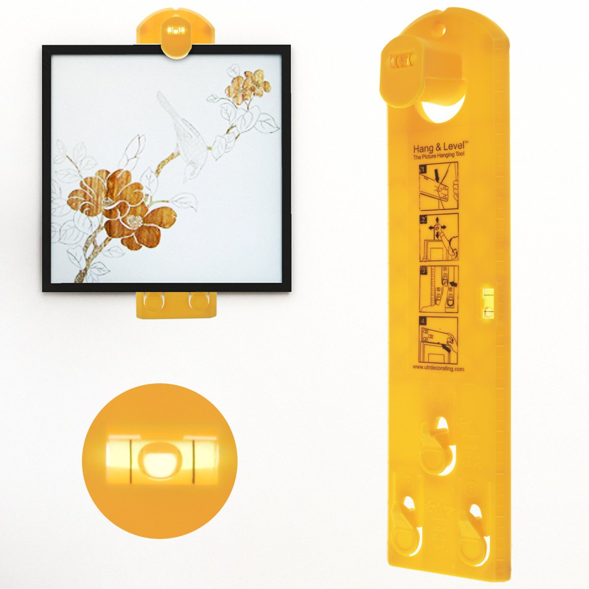Amazon.com: Picture Hanging Tool, WeGuard Vertical and Horizontal ...