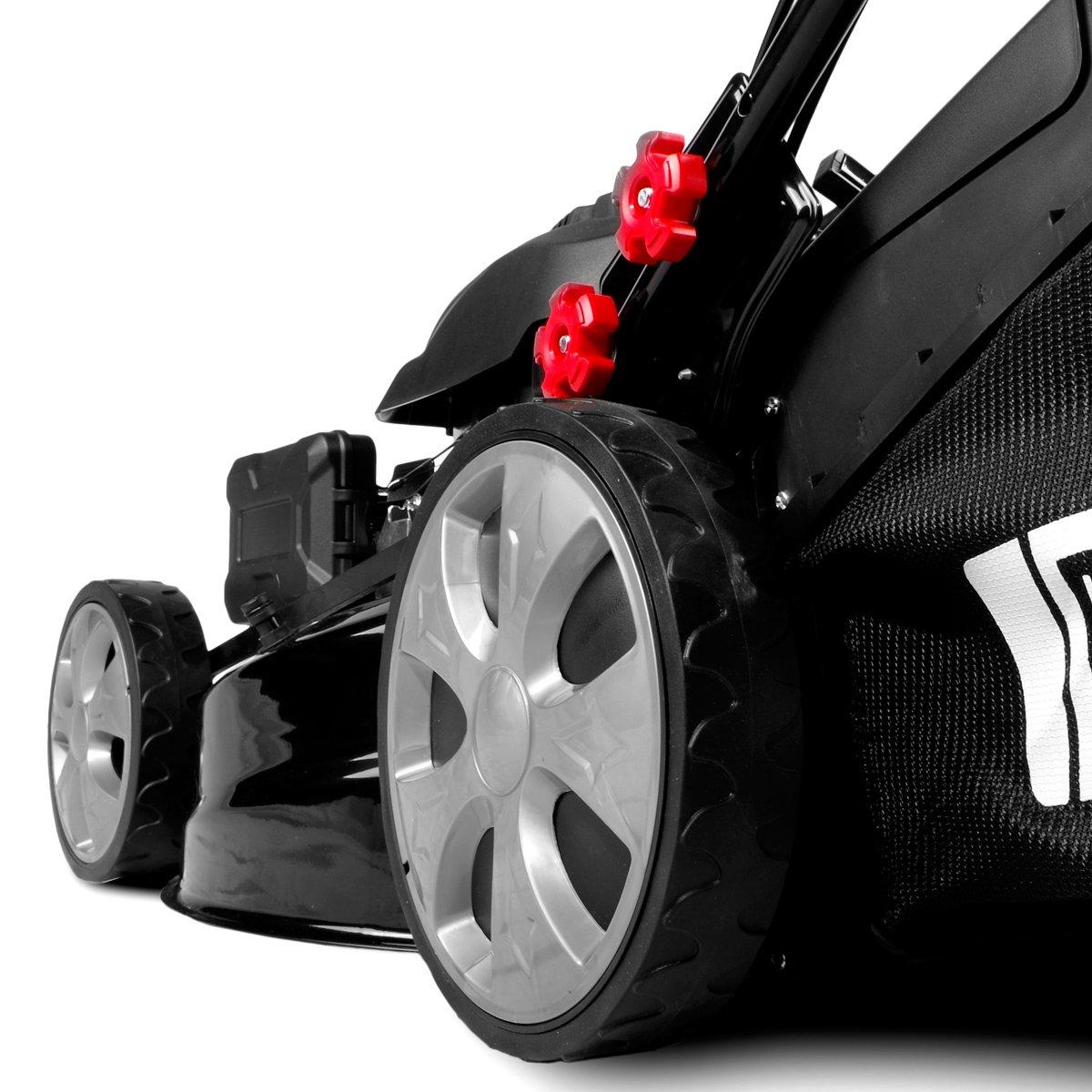 Cortacésped de gasolina Brast autopropulsado, caja de cambios GT ...