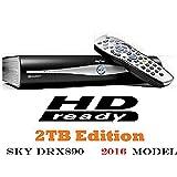 SKY DRX 890 Sky+ HD - New 2TB Hard Drive with RF1 & RF2 OUTPUTS
