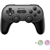 8Bitdo SN30 Pro+ Bluetooth Controller for Nintendo Switch, PC, macOS, Android, Steam and Raspberry Pi with Thumb Stick…