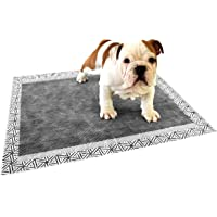 """Pee Padz, Heavy Duty Dog & Puppy Pads, Carbon Top Absorbs Liquids and Stops Odours, Biodegradable, 23"""" x 24"""" - 60 Pads"""