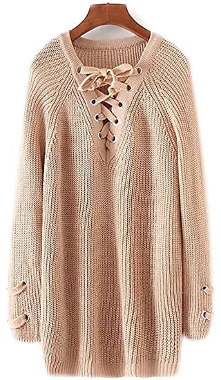 so cheap new lifestyle detailed look Pull Femme Col V Maille Femme Manche Longue Manteau Grande Taille Veste  Sweaters Grosse Tops Synthetic Coton Feminin Sweater Chandail Tricots  Automne ...