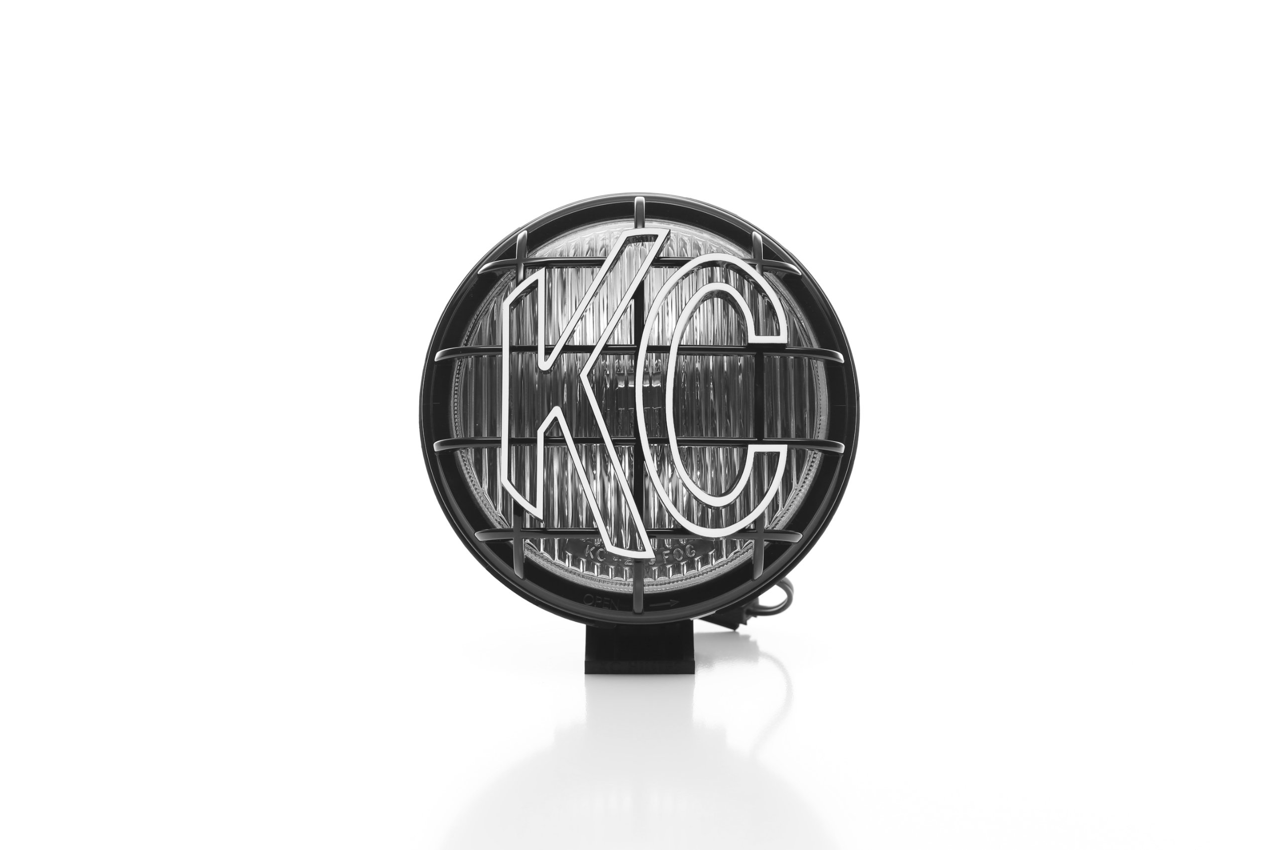KC HiLiTES 1152 Apollo Pro 6'' 100w Single Fog Light with Integrated Stone Guard by KC HiLiTES (Image #2)