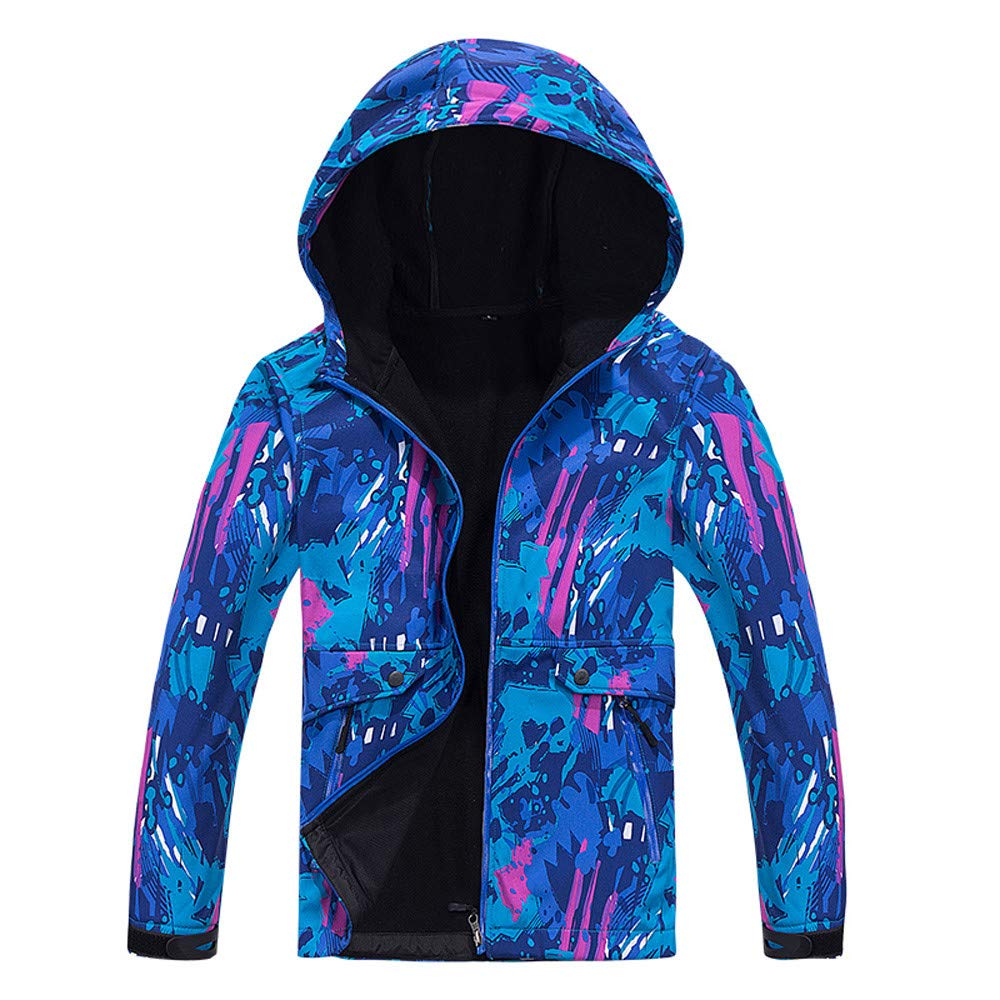 Amazon.com  HYIRI Classic Shell Hoodie Outdoor Outfit Assault Coat ... c0f8716887
