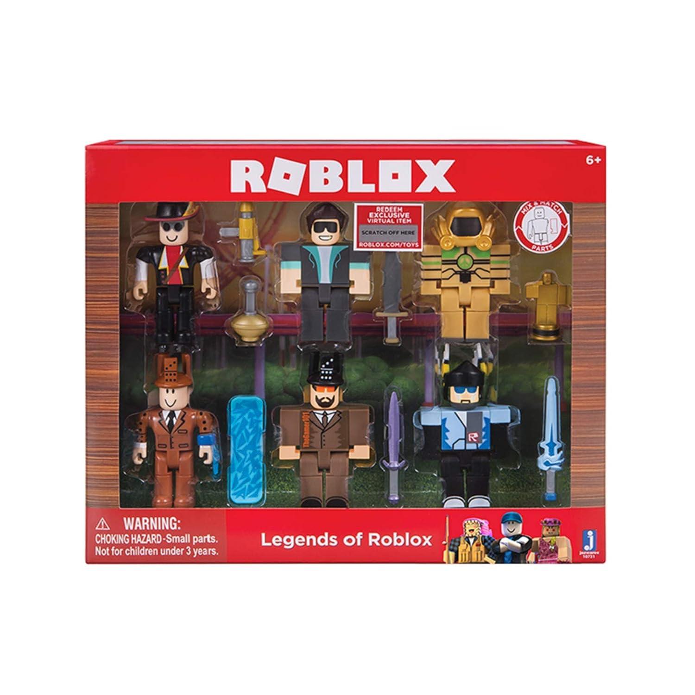 Roblox Legends Of Roblox Six Figure Pack - roblox myths quiz