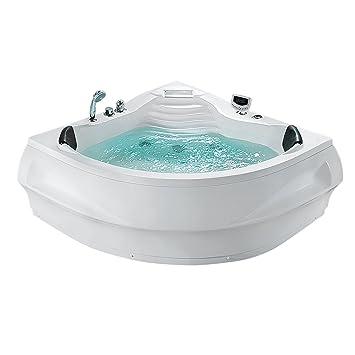 Whirlpool   Badewanne Eckig   Spa   Indoor Jacuzzi   Sprudelbad   MONACO