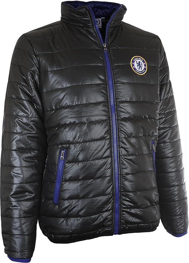 /à capuche homme Chelsea FC officiel Doudoune matelass/ée th/ème football