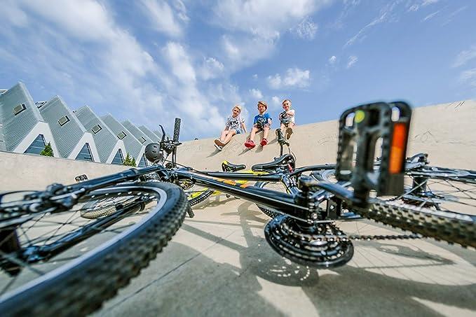 18 Gang breluxx® 24 Zoll Economy Mountainbike Hardtail Venssini Sport gelb