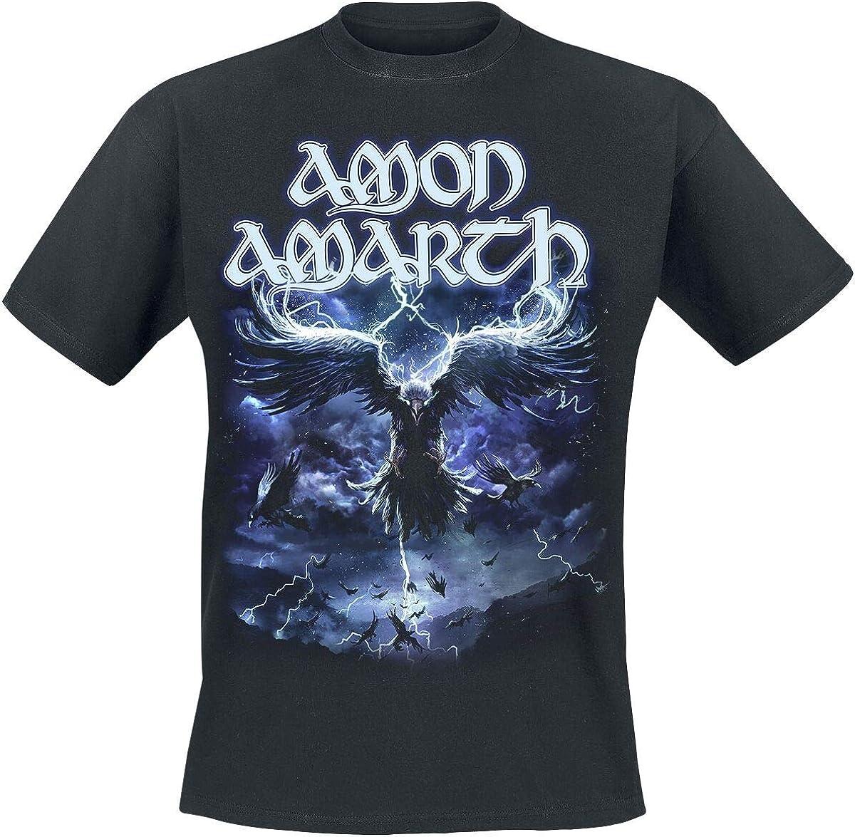 Amon Amarth Ravens Flight T-Shirt schwarz