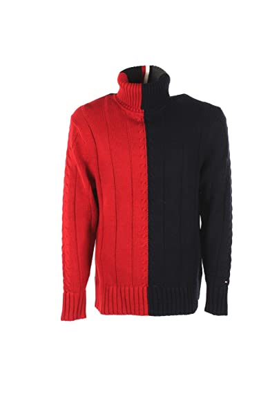 various colors af7c0 b89a7 Tommy Hilfiger Dolcevita Uomo S Blu/Rosso Mw0mw07878 Autunno ...