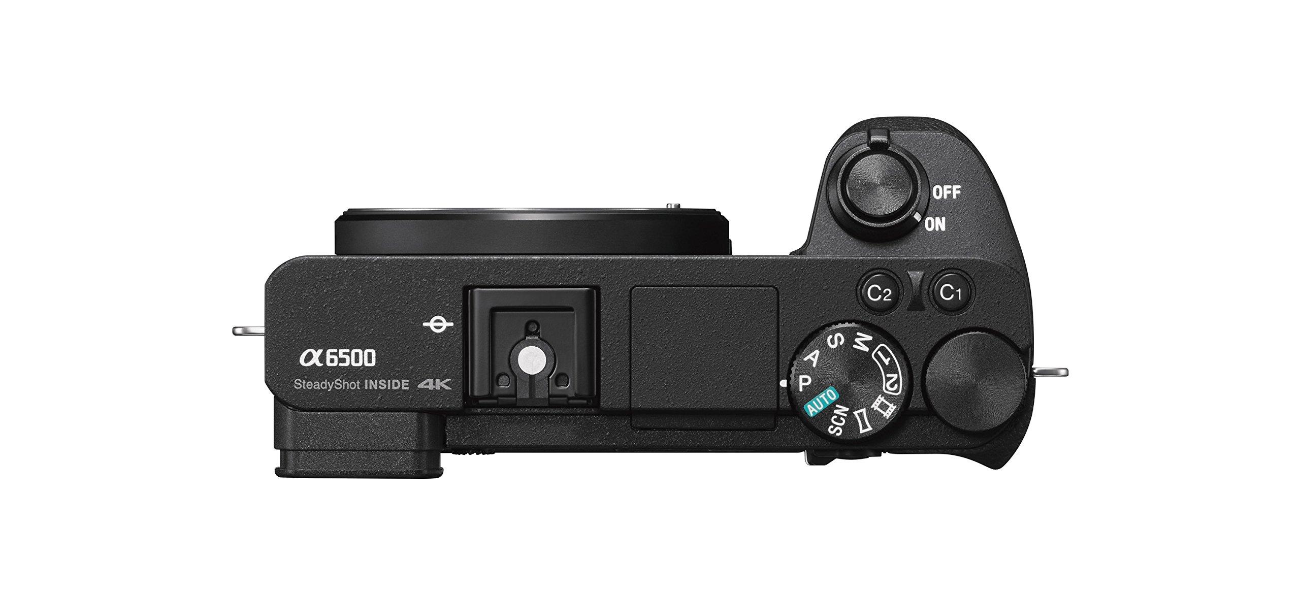 Sony Alpha a6500 Mirrorless Digital Camera w/ 2.95'' LCD (Body Only)