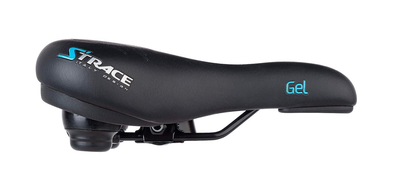 Fahrradsattel Damen Herren gefedert S'Trace Fahrrad Trekking Gel-Polstersattel
