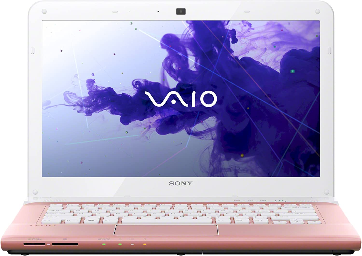 Sony VAIO E Series SVE1413TCXP Laptop (Windows 8, Intel Pentium E2220 2.4 GHz Processor, 14 inches Display, SSD: 320 GB , RAM: 4 GB DDR3) Seashell Pink