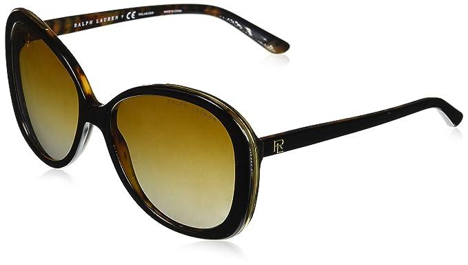 Ralph Lauren 0RL8166, Gafas de sol para Mujer, Top Black ...