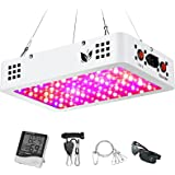 1000W LED Grow Light, Full Spectrum Plant Light with Dual Switch & Dual Chips, Grow Light for Hydroponic Indoor Plants Veg an