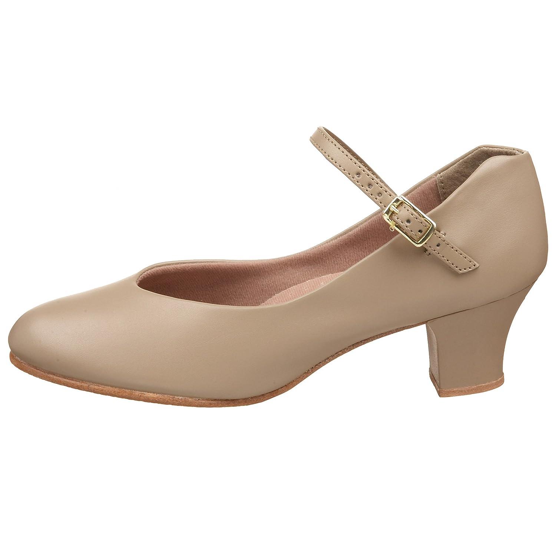 7.5 US Womens Character Shoes Capezio Junior Footlight Tan 5 UK