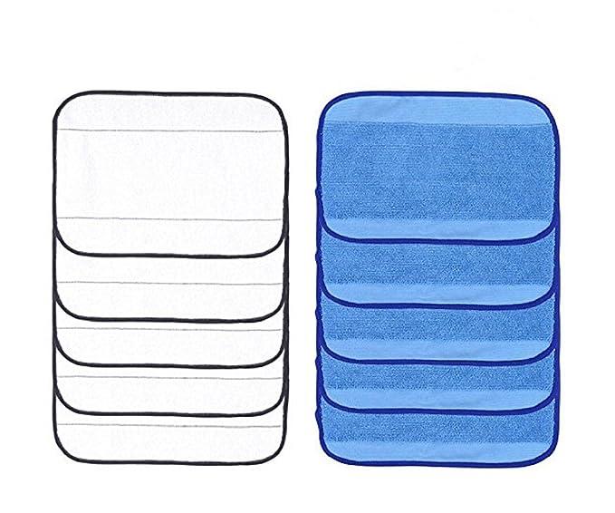Minibot 10 Pack paños de limpieza 5 Wet + 5 Seco para iRobot ...