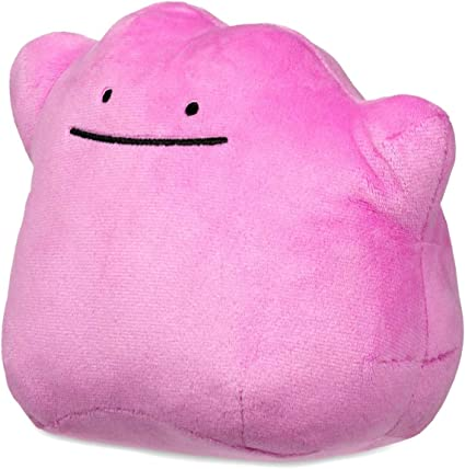 JUMBO Ditto Plush over 12 Inches Pillow Sized Pokemon  FAST USA SHIPPING