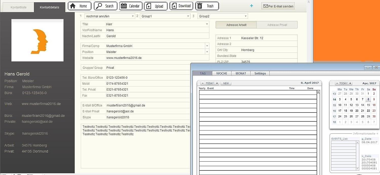 Prof empresariales AD2 libreta de direcciones Software de ...