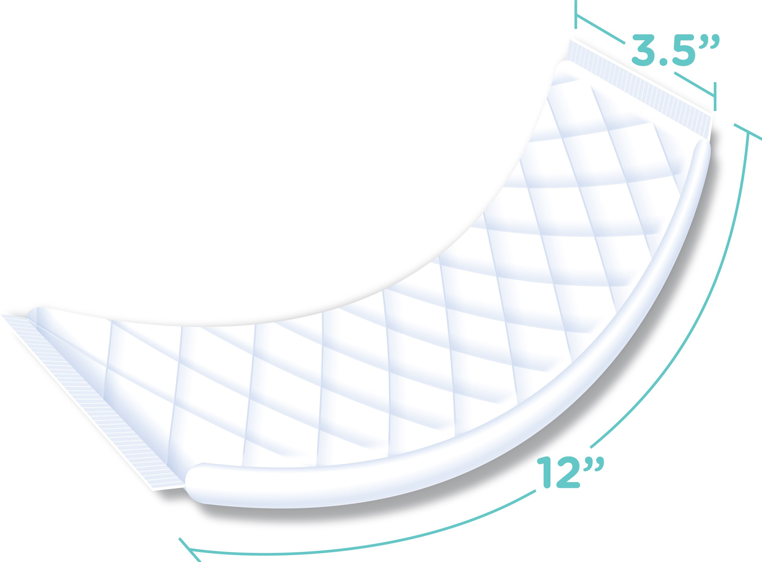 Sposie Booster Pads Diaper Doubler, 180 Count, 6 Packs of 30 Pads by Select Kids (Image #8)